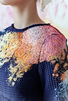 The art of embroidery has existed throughout time, dating as far back as 5th century BC. Despite its centuries-old origins, this timeless craft has continually been reenergized by visionary artists who push the boundaries of its meaning and limits. From hyperrealistic embroidered portraits to cross stitching on cars, creatives have taken the field to new and exciting places with their artwork. Scroll down to see some of our favorite artists who take the art of embroidery to the next level…