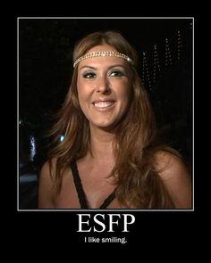 ESFP uncomplicated