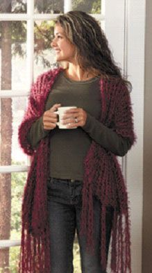 Knifty Knitter Shawl, instructions for those who own the extra large knifty knitter loom (yellow)