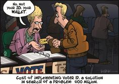 Cost of Voter ID