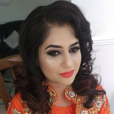 Sooo excited to share one of my proudest looks so far on the beautiful Aisha @a.munir1973  This time we went all out Hollywood glam no editing just pure beaut! Loads of love for this lady via @angela4design by salinapromakeup