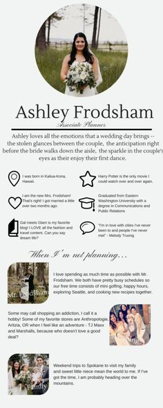 All About Ashley   Seattle Wedding Planner   Taylor'd Events Group   #weddingplanner #seattleweddingplanner #destinationweddingplanner #taylordeventsgroup
