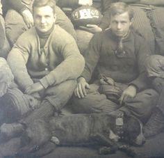 -1908 UNIVERSITY OF ALABAMA CRIMSON TIDE ORIGINAL TEAM PHOTOGRAPH -PITBULL DOG