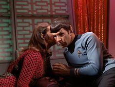Spock and his smoking hot Romulan commander