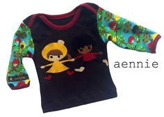 Liandlo-Kinder auf Babyshirt - by aennie