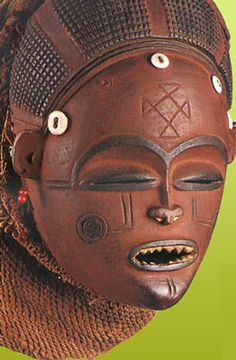 African tribal mask. (If you know the culture from which this mask derives, please add in a comment below.)
