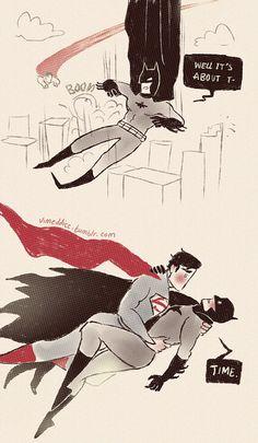 SuperBat#; Aww, that's so adorable. :3