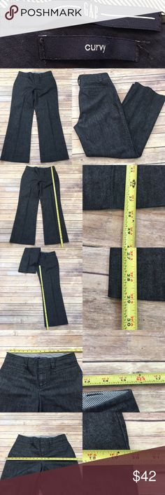 🍃Size 6 Long GAP Curvy Bootcut Front Seam Pants Measurements are in photos. Normal wash wear, no flaws. F1/30  I do not comment to my buyers after purchases, due to their privacy. If you would like any reassurance after your purchase that I did receive your order, please feel free to comment on the listing and I will promptly respond. I ship everyday and I always package safely. Thanks! GAP Pants Boot Cut & Flare