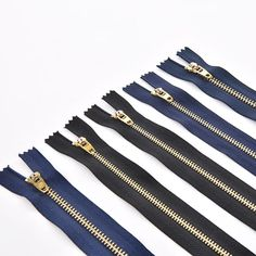metal zippers are perfect for boots, jeans, jacket, making your outfit more fashionable and cool.