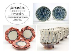 We just love Sean Patrick O'Connell's work. Interested in seeing how he makes his beautiful surfaces? Come check out his presentation in this one day workshop at Amaco/Brent of August 2nd! http://ceramicartsdaily.org/potters-council/decorative-functional-ceramics/