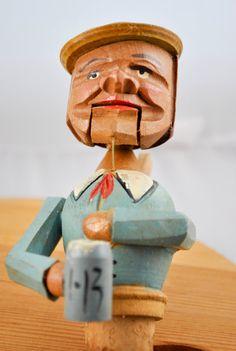 German Wood Cork Bottle Stopper by kimple674250 on Etsy, $45.00