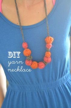 Step-by-step instructions for this cute necklace!