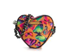 Betsey Johnson Butterflies Are Free Crossbody Bag