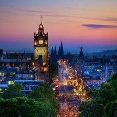 Edinburgh! pretty!