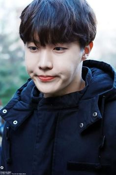 I melt when i see Hoseoks cute little dimples