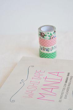 Libro Washi Tape Manía -- I love washiiii