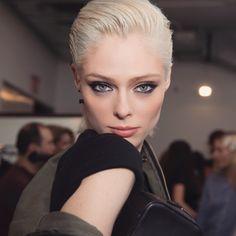 Hair by #GuidoPalau, makeup by #JamesKaliardos.... | Coco Rocha
