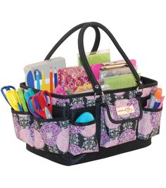 Get your markers, stickers, scraps and other craft supplies organized with the Everything Mary Scrapbook Organizer. | Gifts for Teachers | Gifts for Her | Holiday Gift Guide