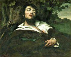 dreammy......Gustave Courbet: The Wounded Man (1844-54) by petrus.agricola, via Flickr