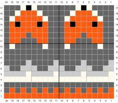 Excellent Free knitting charts fox Tips Knitting Socks Fox Free Pattern Ideas Baby Knitting Patterns, Knitting Charts, Knitting Stitches, Knitting Socks, Stitch Patterns, Free Knitting, Knit Hats, Vintage Knitting, Motif Fair Isle
