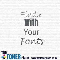 Did you know that certain fonts can use less ink than others? For example, Times New Roman uses less ink than Arial. Also reducing the size of font from 12 to 11 or 10 will help saving ink. Another little extra tip, only use the bold type face when really required, as this uses more ink too.