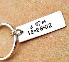 keychaingifts for men personalized keychain by natashaaloha, $20.00