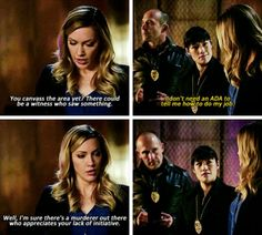 """""""I'm sure there's a murderer out there who appreciates your lack of initiative"""" - Laurel Lance #Arrow ((Well done, girl!))"""