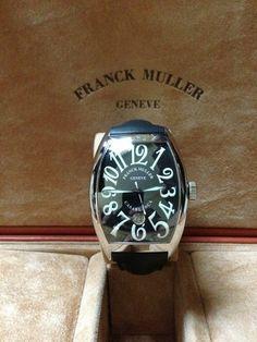 Franck Muller Casablanca 8880 C DT with Additional Leather Strap