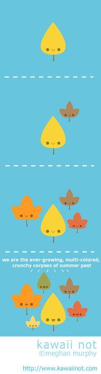 kawaii not - Fall Foliage