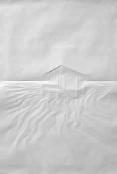 paper art by Simon Schubert [white]