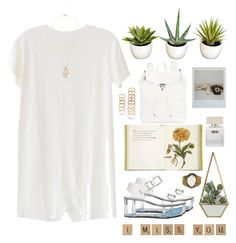 """Sunny Daze"" by taramarind ❤ liked on Polyvore featuring LnA, Y.R.U., Jayson Home, Bella Freud, Illesteva, Forever 21 and Majdan Rocks"