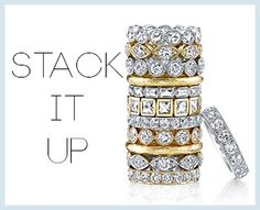 Stack it up!! Shop www.singlestone.com