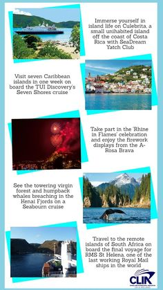 Five 'once in a lifetime experience' cruises not to be missed in 2017. #cruise #cruiseship #cruising #cruises
