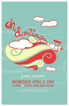 oh darling concert poster