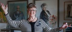 Ritva Auvinen, Finnish soprano, opera star, 80 years old, Finland