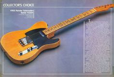 Roy Buchanans 53 Telecaster named Nancy...