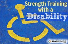 Strength Training w Limitations.Whether you have a disability or a chronic condition that limits your mobility exercise doesn't have to be out of reach or even painful. Chair Exercises, Body Exercises, Training Exercises, Training Tips, Psoas Muscle, Spark People, Senior Fitness, Fitness Tips, Health Fitness