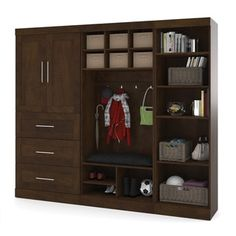 Pur by Bestar Mudroom Kit - Free Shipping Today - Overstock.com - 16812538 - Mobile