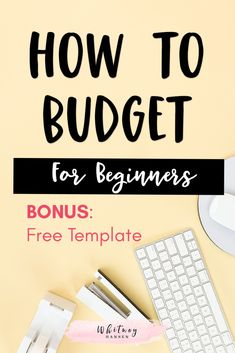 Budgeting For Beginners: How To Create A Budget – Finance tips, saving money, budgeting planner Excel Budget, Monthly Budget, Sample Budget, Monthly Expenses, Budget Spreadsheet, Budget Binder, Making A Budget, Create A Budget, Making Ideas