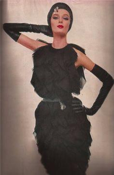 Harper's Bazaar (1961) NINA VON SCHLEBRUGGE (MISSPELLED, NO DOUBT)--UMA'S MOTHER