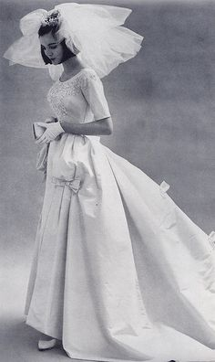 Early 60's wedding gown