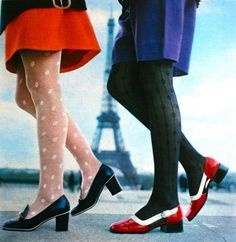 Chaussures, Jours de France May 1970