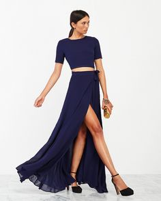 The Cascadia Two Piece from Reformation. https://www.thereformation.com/products/cascadia-two-piece-royal?utm_source=pinterest&utm_medium=paid&utm_campaign=WeddingChicksPromo