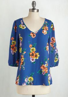 Vibrant at the Vineyard Top, @ModCloth