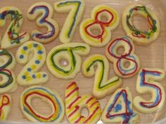 Number Cookies - an irresistibly yummy numeracy activity for kids! (learning4kids)