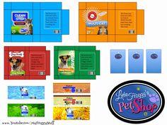 Pet shop printables