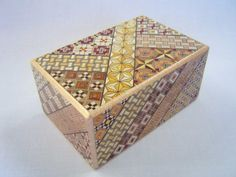Japanese Puzzle Box (himitsu Bako)- 6inch(150mm) Open By 10steps With Hidden…