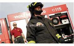 VeraTV Valle Castellana - In fiamme un appartamento