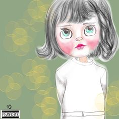 The doll  #the100face #the100dayproject #nggambarsik #digitalart #sketchaday