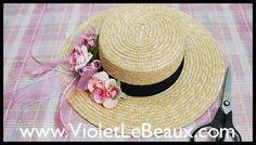 Boater Hat Modification 2